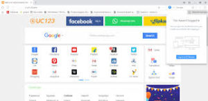 UC Browser For Windows 7 Download interface